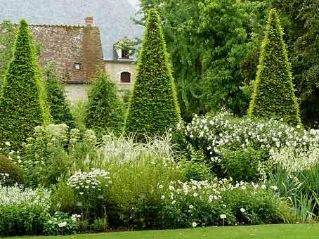 Un jardin blanc jardin du sens - Petit jardin blanc le havre ...