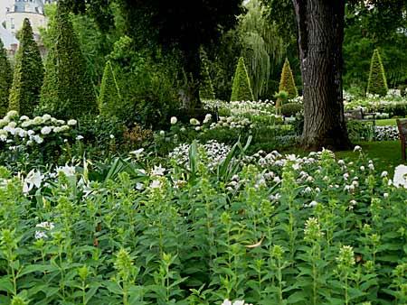Un jardin monochrome pourquoi pas arrosoirs et s cateurs for Apremont sur allier jardin