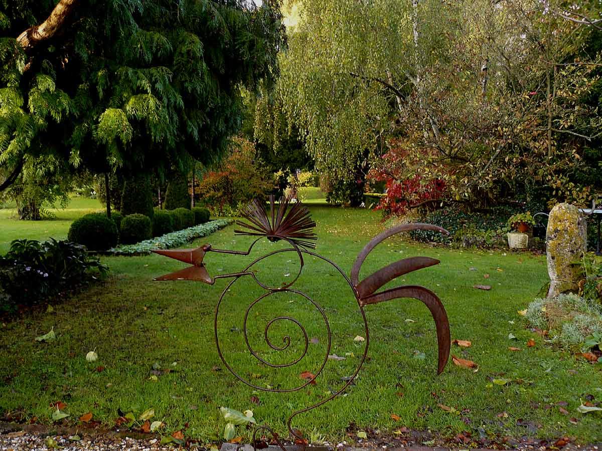 Le jardin de gill saint martin de boscherville for Le jardin des plumes