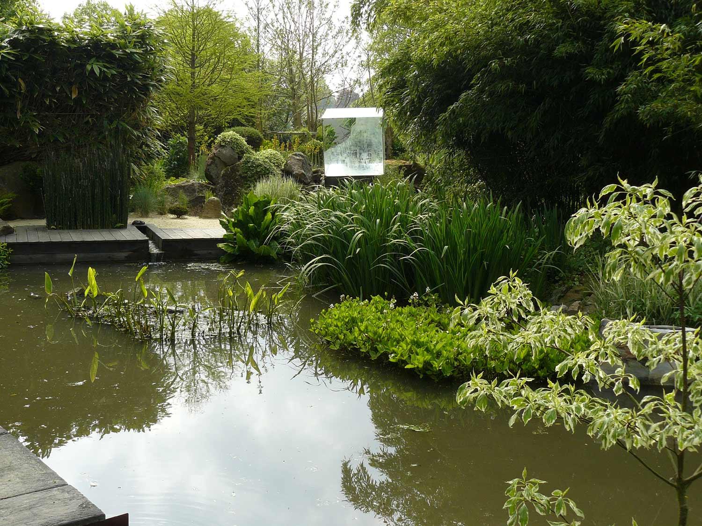 Le jardin int rieur ciel ouvert athis de l orne arrosoirs et s cateurs - Jardin contemporain athis de l orne nantes ...