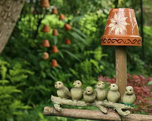 décoration jardin fait maison