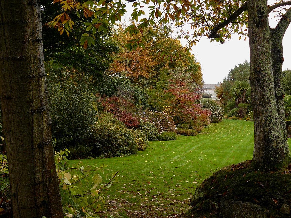 Le jardin du pellinec en novembre arrosoirs et s cateurs - Jardin novembre ...