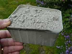 Du b ton sur pots et jardini res arrosoirs et s cateurs - Proportion pour faire du beton ...