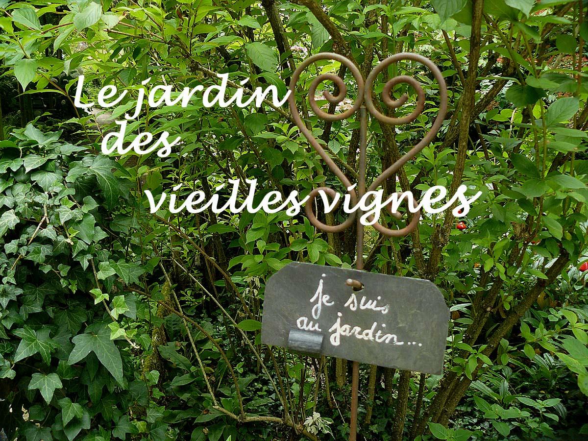Le jardin des vieilles vignes en franche comt arrosoirs et s cateurs - Le jardin des grandes vignes ...